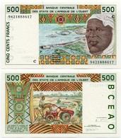 Burkina Faso - 500 Francs - Burkina Faso