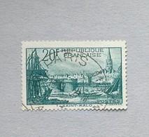 PORT DE ST MALO N°394 OBLITERE - France