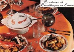 CRUSTACES ET COQUILLAGES EN SAUCE - Küchenrezepte