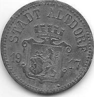 *notgeld Altdorf 10 Pfennig 1917  Zn 163.2 /F11.2 - Other