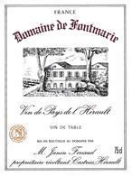 Domaine De Fontmarie - Hérault - Janin Feriaud - Etiquettes