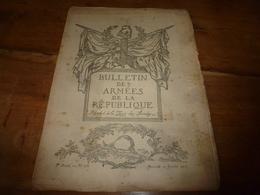 1917  BAR :  MittelEuropa; Orientation Par La Lune; Forme Amicale De La Trahison; Zeebrugge ; Humour Et Esprit; Etc - Français