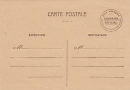 N°STORCH GUE D1 ENTIER POSTAL CP GUERRE 1939/45 COURRIER OFFICIEL POUR ADMINISTRATION ET PARTICULIEREMENT ADMINISTRATION - Storia Postale
