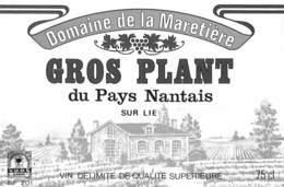 Domaine De La Maretière - Gros Plant Du Pays Nantais - La Chapelle Heulin - Etiquettes