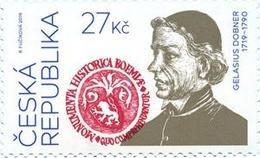 CZ 2019-1029 Gelasius Dobner, CZECH, 1 X 1v, MNH - Tchéquie