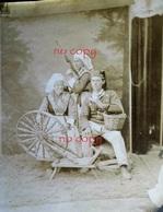 29 FINISTERE BRETAGNE PHOTO ORIGINALE ANCIENNE PLOUGASTEL COSTUME FOLKLORE METIER Canton BREST Guipavas - Plougastel-Daoulas