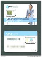 UNITED STATES  -  Mint/Unused Chip SIM Card/AT&T Chip 1 As Scan - Vereinigte Staaten