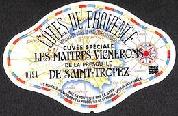 Côtes De Provence - Cuvée Spéciale Les Maîtres Vignerons De La Presqu'île De Saint-Tropez - Etiquettes