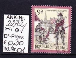 """23.1.1998  -  FM-Erg.Wert   """"Sagen U. Legenden In Österr. """"  -  O  Gestempelt  -  S. Scan  (2272o 01-18) - 1991-00 Usados"""