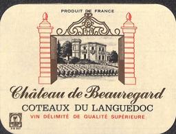 Château De Beauregard - Côtes Du Languedoc - Etiquettes