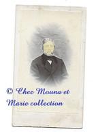JEAN CHARLES ADOLPHE DU MOUSTIER DE CANCHY - PROCHE FAMILLE DU MANEY - OFFICIER DE CAVALERIE - CDV PHOTO - Photos