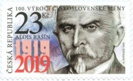 CZ 2019-1025 100 Years Of The Czechoslovak Currency, CZECH, 1 X 1v, MNH - Tchéquie