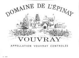 Domaine De L'Epinay Vouvray - Etiquettes