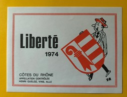 11367 -  Liberté 1974 Jura Suisse  2 Scans - Politica (vecchia E Nuova)
