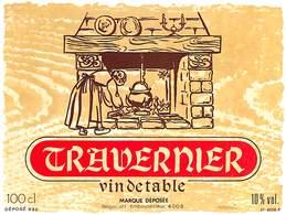 Travernier, Vin De Table 10 % - Etiquettes