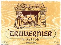 Travernier, Vin De Table 11 % - Etiquettes