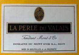 11368 - Série Complète Domaine Du Mont D'Or Sion Suisse 11 étiquettes  Année 1980 - Collezioni & Lotti