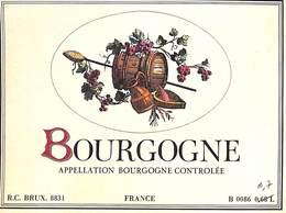 Bourgogne - 0.68 L ==> 0.7 - Etiquettes