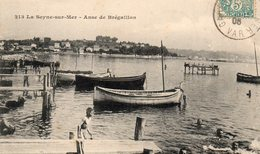 83 LA SEYNE SUR MER ANSE DE BREGAILLON ENFANTS A LA BAIGNADE - La Seyne-sur-Mer