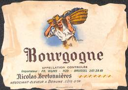 Bourgogne - Nicolas Bretonnières Beaune - Etiquettes