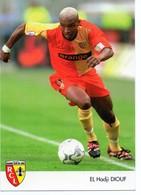 Football EL HADJI DIOUF Rc Lens - Sonstige