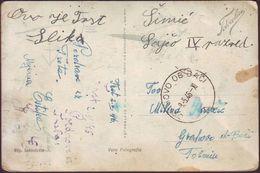 ITALIA - TRIESTE IDROSCALO To GRAHOVO Ob BAČI -  1946 - 7. Trieste