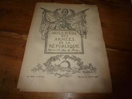 1917  BAR :Les Illusions Perdues;Nos Marins Bretons Et;Le Bon Ivrogne Janicot;Utilisation Des Marrons D'Inde;Avions;etc - Revues & Journaux