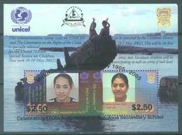 TUVALU - 2005 - MNH/** - MS - UNICEF OVERPRINT MOTUTOUA SECONDARY SCHOOL - Lot 20138 VERY RARE SEE DESCRIPTION !!! - Tuvalu