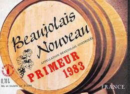 Beaujolais Nouveau Primeur 1983 - Etiquettes