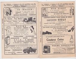 TURNHOUT-CINE-KURSAAL-AUDIE MURPHY+NANCY OLSON-PRACHTIGE RECLAME EIND JAREN'50-AFMETINGEN+-11-16CM-ZIE 2 SCANS-RARE! ! - Publicité Cinématographique