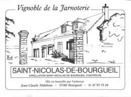 Vignoble De La Jarnoterie - Saint-Nicolas-de-Bourgueil - Etiquettes