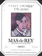 Cuvée Prestige Picasso - Mas De Rey, Arles - Etiquettes