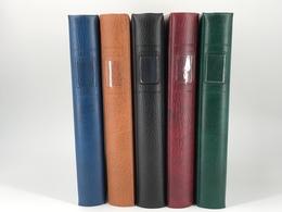 Lindner Ringbinder O. Kassette Blau 1104 Neuwertig ( - Albums & Reliures