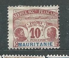MAURITANIE  TAXE  N°  10  * TB - Neufs