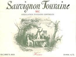 Sauvignon Touraine, Sec - Etiquettes