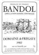 Bandol - Domaine De Frégae 1982, Notre-Dame De Port D'Alon Saint-Cyr - Etiquettes