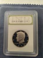 1/2 Dollaro 1979 Proof 70 In Slabs Zecca S - 1964-…: Kennedy