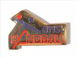 Pin's AMSL HANDBALL - Association Multi Sports Et Loisirs De Fréjus (83) - I467 - Balonmano