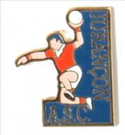 Pin's A.S.C. HANDBALL - JURANCON (64) - Le Handballeur - I468 - Balonmano