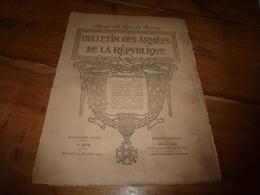1917  BAR :De L'Utopie à La Servitude; Odyssée D'un Transport Torpillé; Recettes De Poilus ;Attila Sur L'Isonzo ;etc - Français