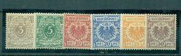 Deutsches Reich, Krone/Adler 45 - 50 Falz * - Deutschland