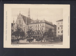 Dt. Reich AK Leipzig Das Cafe Francais 1900 - Leipzig
