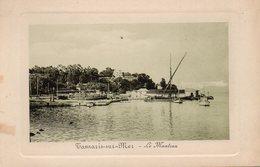 83 TAMARIS SUR MER LE MANTEAU  DEBARCADERE CARTE GAUFFREE - La Seyne-sur-Mer