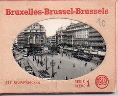 REF EX2 : Carnet De 10 Photos Avec étui Bruxelles Brussel - Photographie