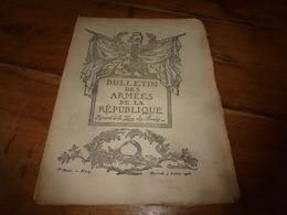 1917  BAR :Fonctionnement Reichstag;Concours Affiche;Hansi;Le Soldat De La Somme;Tommy En France;Ecole Des Cuistots;etc - Français