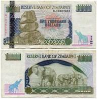 Zimbabwe - 6 Banknotes - 1 + 5 +10 + 20 + 1000 Dollars (2007) And 1000 Dollars (2003) - Zimbabwe