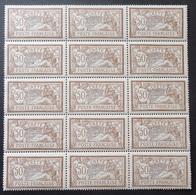 Crète Maury N° 11 En Bloc De 15 Timbres Neufs ** MNH. TB. A Saisir! - Kreta (1902-1903)