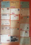 France  -Lot De 18 Lettres - TOUTES TAXEES  - DEPART 1 EURO - 1859-1955 Briefe & Dokumente