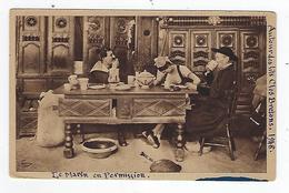 CPA 29 - Folklore - Autour Des Lits Clos Bretons - Le Marin En Permission - Francia