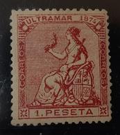 Cuba N30 *CON (INFIMO PUNTO CLARO POSIBLE PORO DEL PAPEL - Cuba (1874-1898)